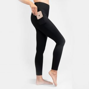 Hi-Rise Black Legging